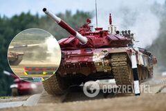 Російські танкісти тричі промахнулися з трьох пострілів