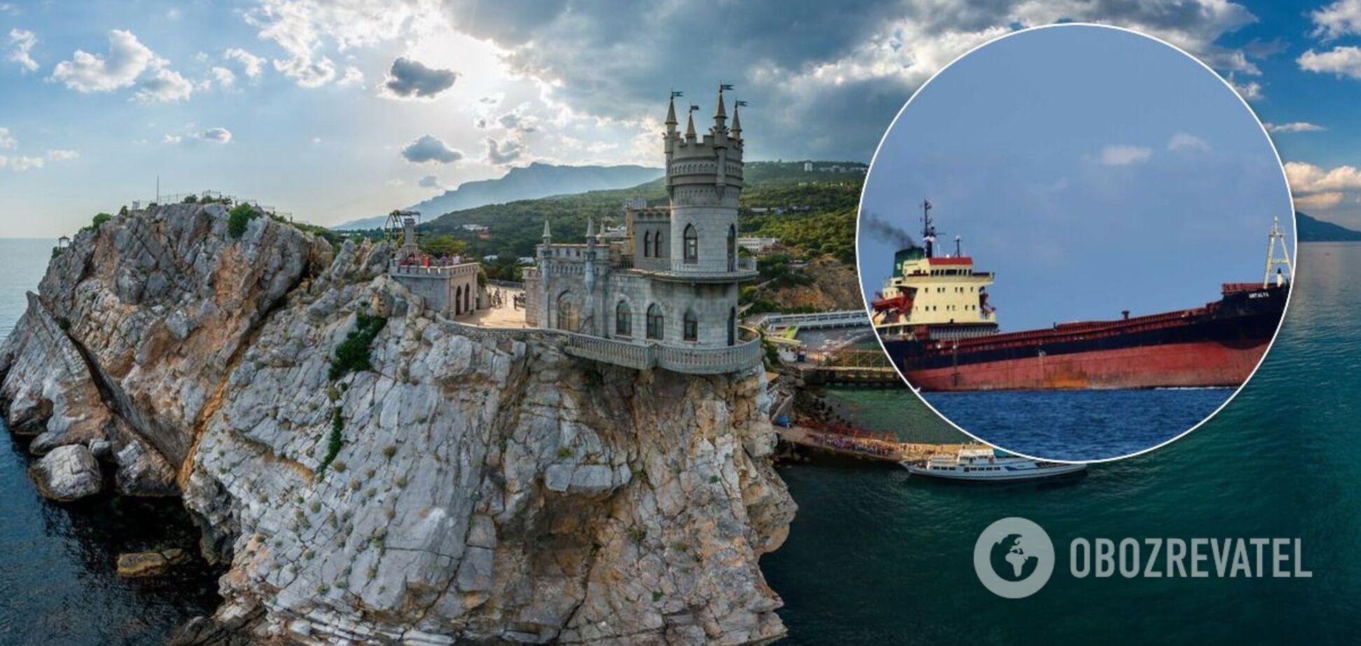Британия разрешила судам заходить в оккупированный Крым