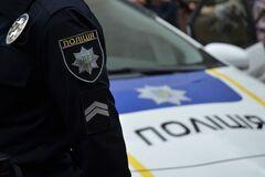 Поліція затримала в Києві на АЗС чоловіка з гранатою