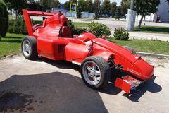 ЗАЗ спробували зробити схожим на Ferrari. Фото: auto.ru