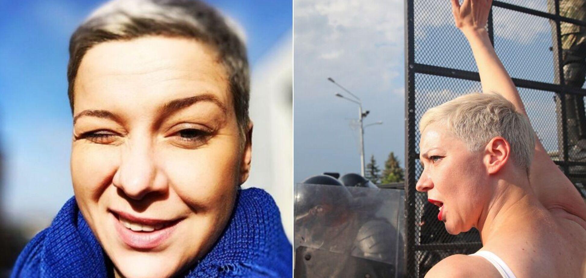 Марія Колесникова стала лідером протестного руху в Білорусі