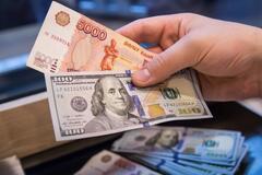 Курс рубля в Росії продовжив падіння