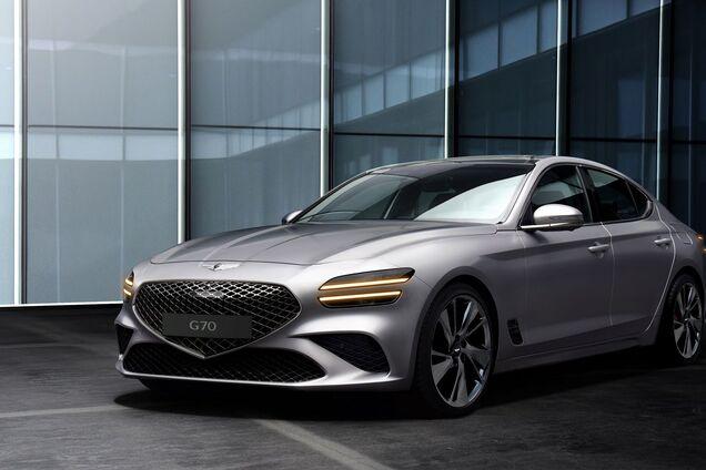 """В США """"рассекретили"""" обновленный седан Genesis G70"""