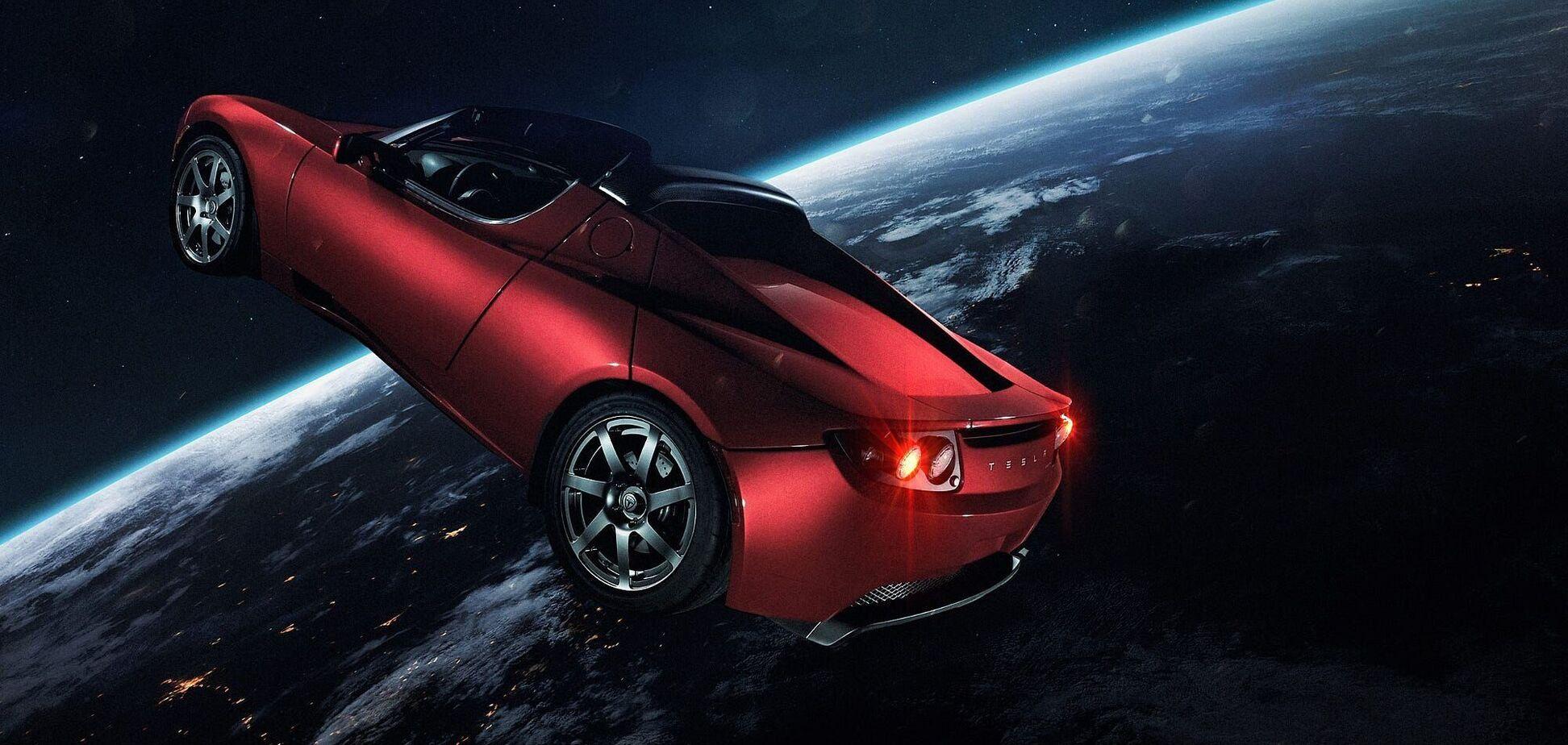 Tesla Roadster сильно отдалилась от Земли и уже признана космическим мусором. Фото: drom.ru