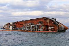 Затонувший танкер 'Делфи' в Одессе