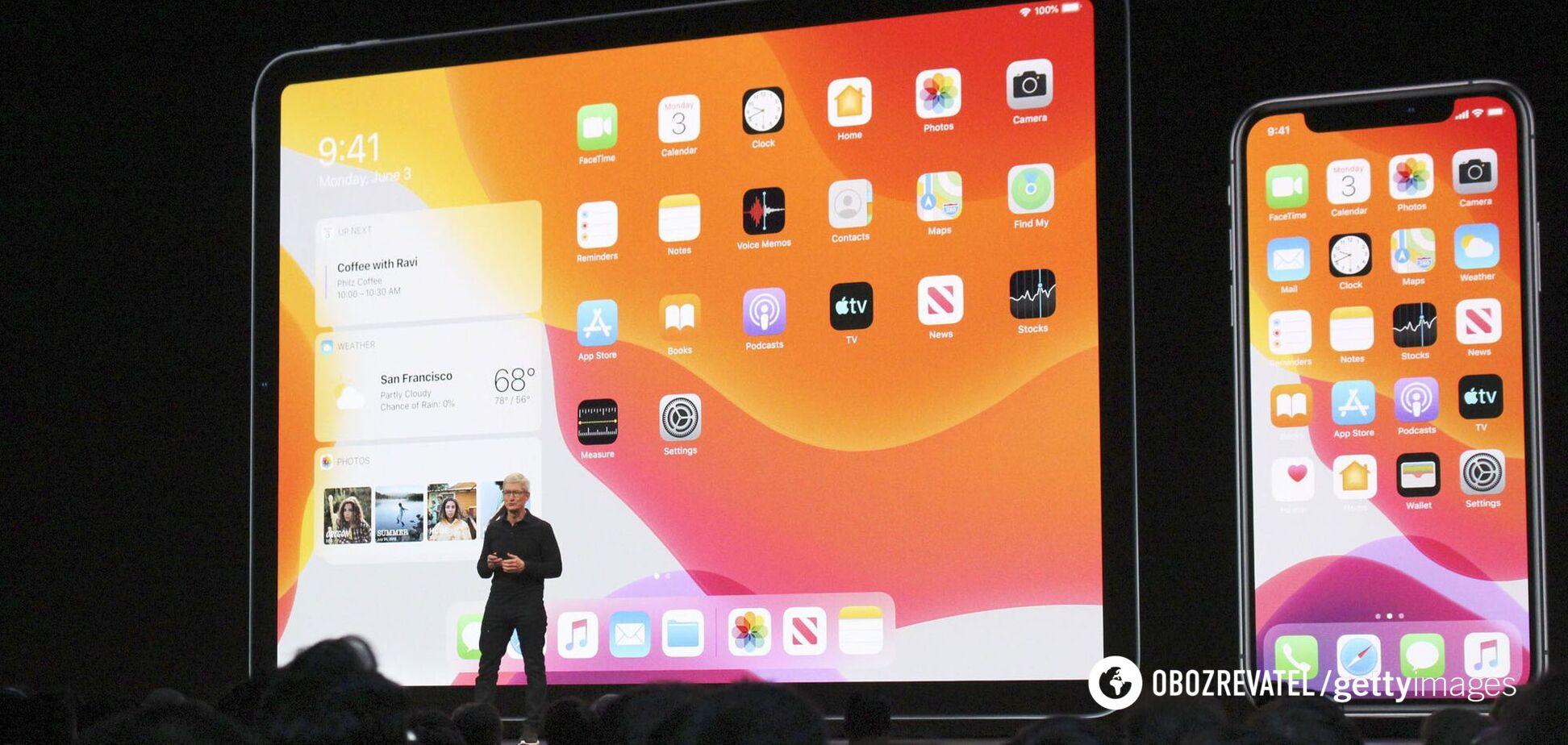 Обычно Apple на ежегодной презентации показывает новые iPhone