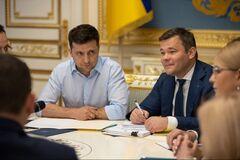 Андрій Богдан дав інтерв'ю щодо президента Зеленського