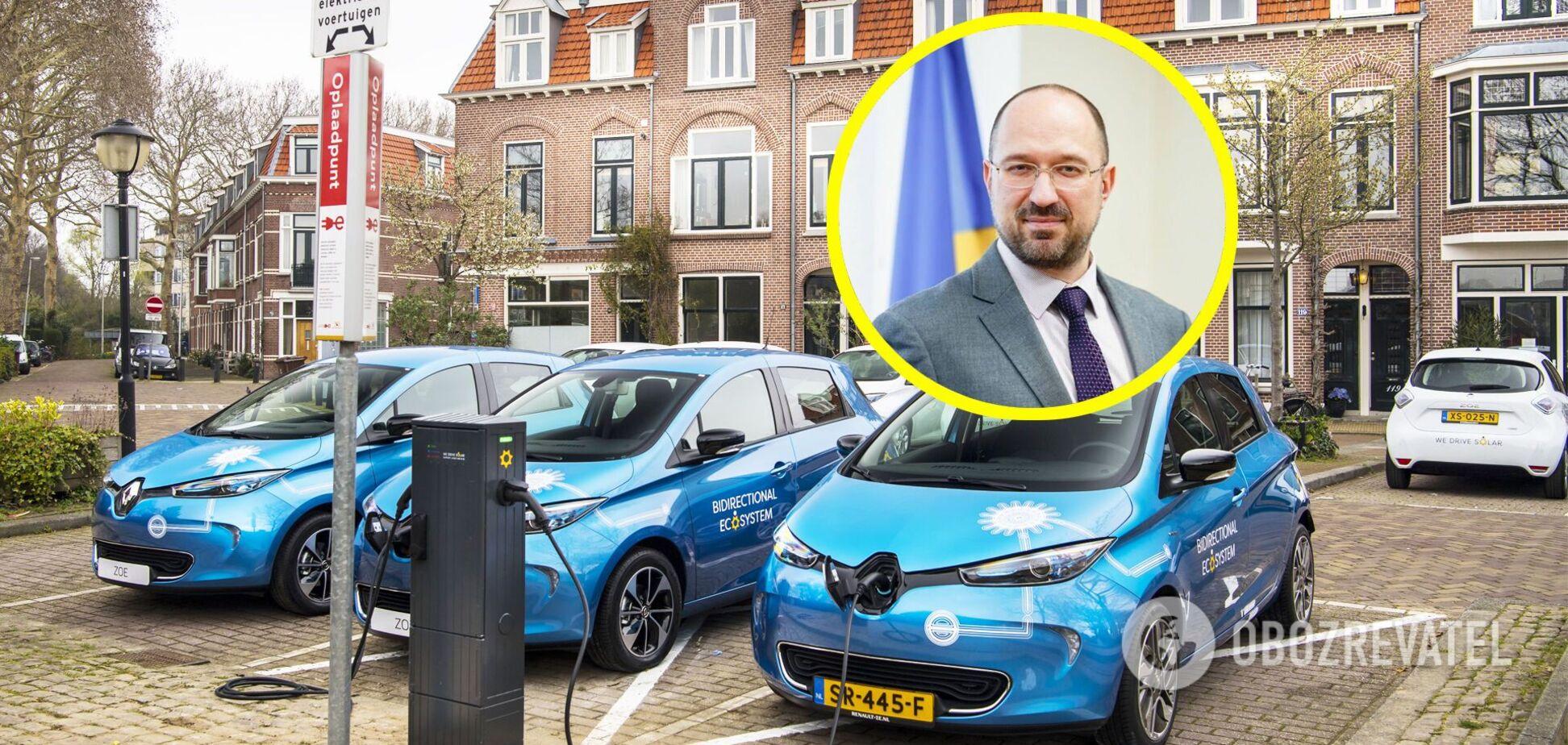 Кабмин Украины утвердил законопроект в поддержку электромобилей. Фото: obozrevatel.com
