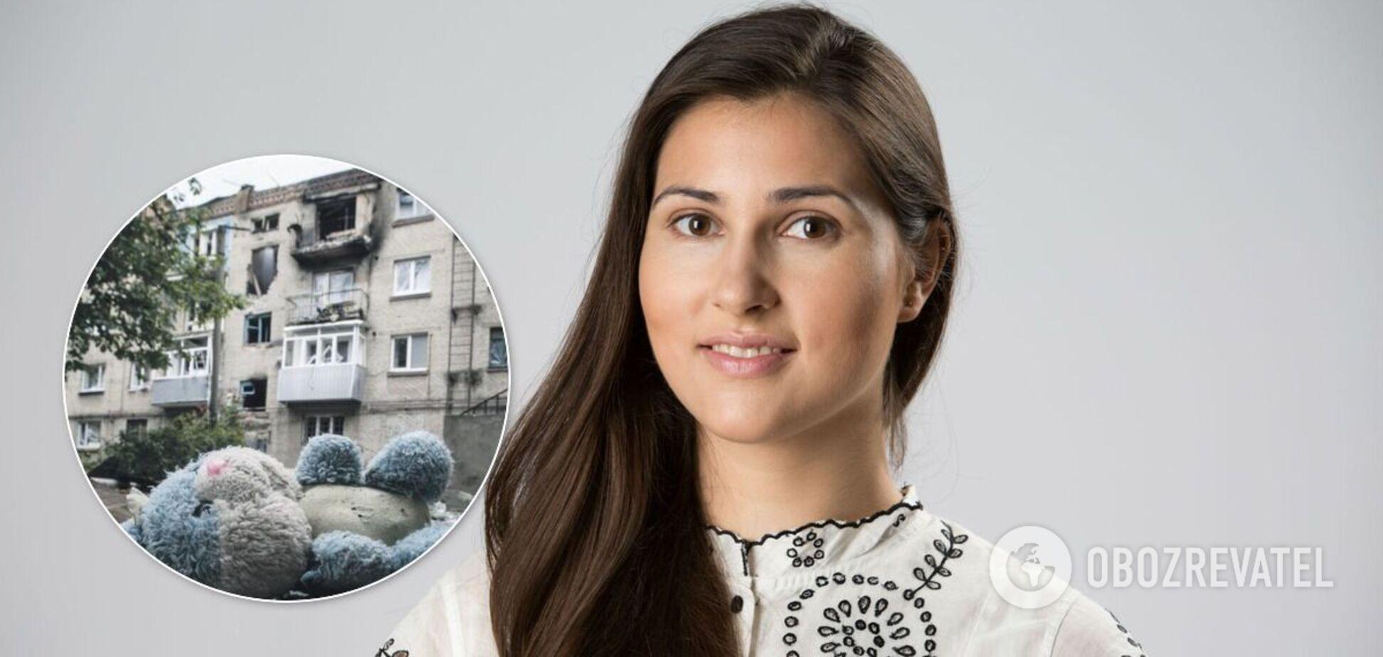 Янченко рассказала о детях Донбасса