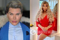 Родриго Алвес перенес множество операций, чтобы быть похожим на куклу Барби