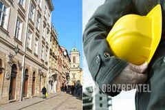 Во Львове застройщика обвинили в разрушении жилого дома. Видео и документы