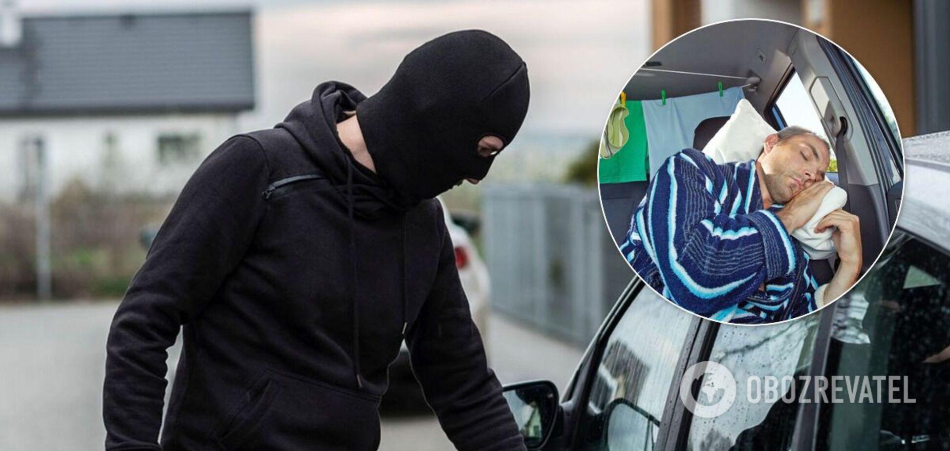 Злочинець вкрав машину з пасажирами