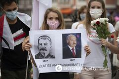 Лебедько: Лукашенко решает проблему с протестами, как Сталин