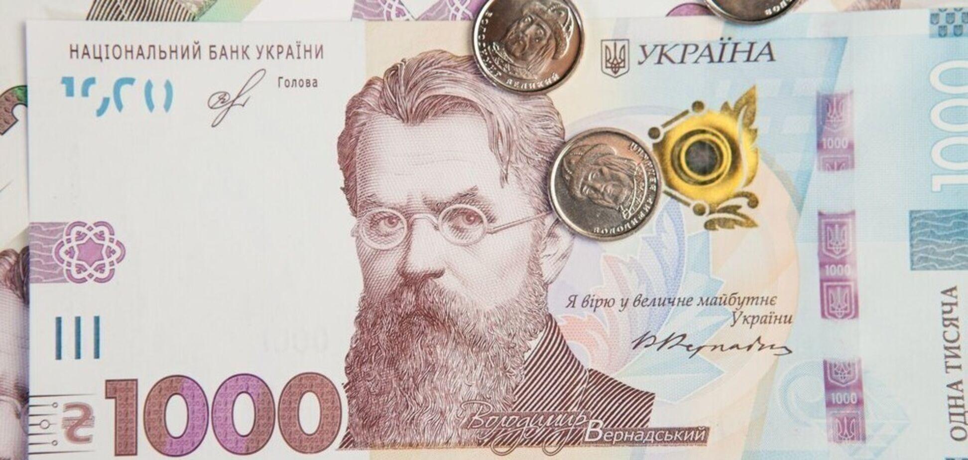 Украина взяла в долг почти 1 млрд грн
