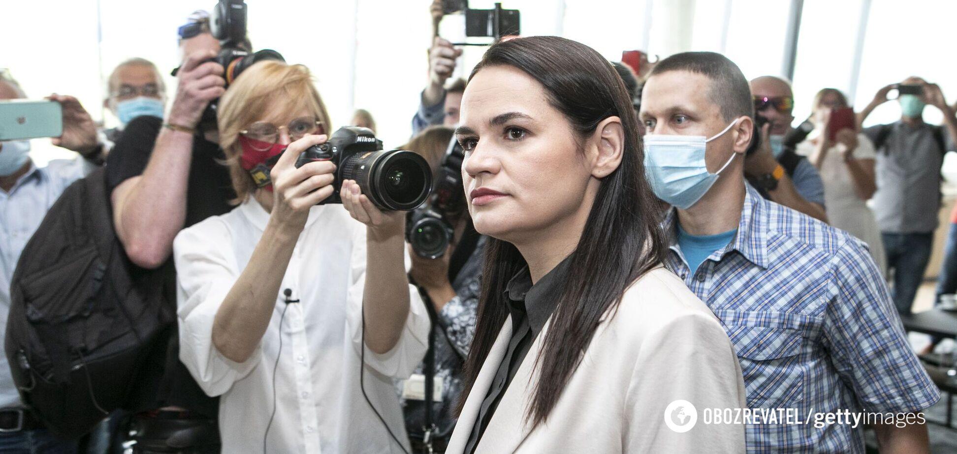 Тихановську запропонували висунути на Нобелівську премію миру