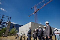 Зеленский пообщался с журналистами на Хмельницкой АЭС