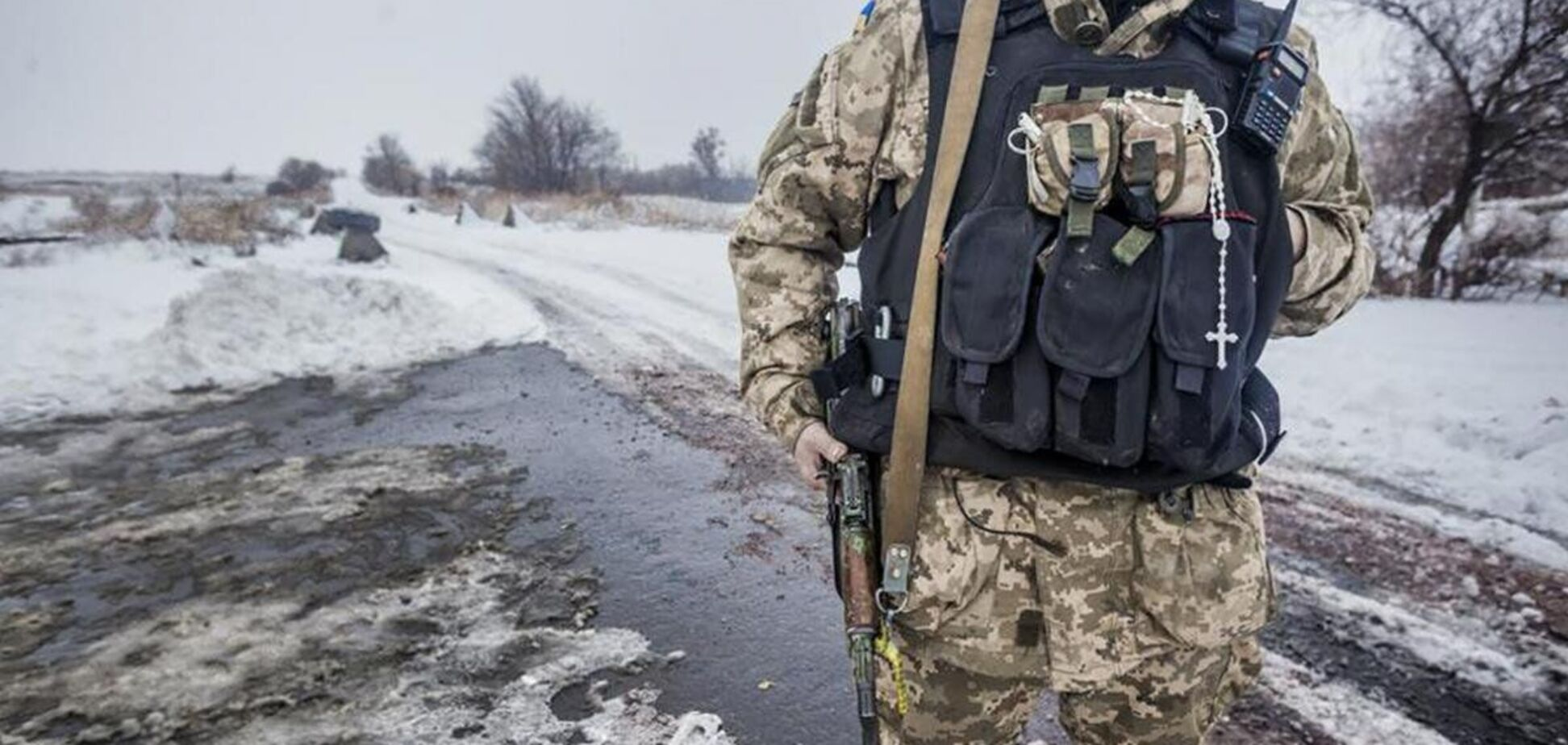 Украинские военные дали отпор оккупантам на Донбассе