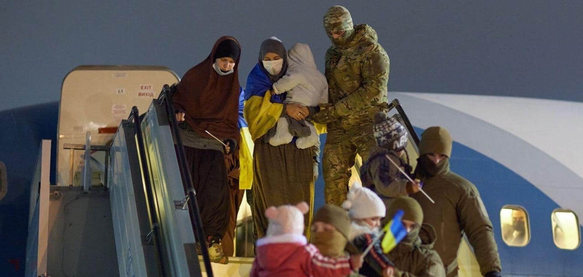 Повернення українців з Сирії
