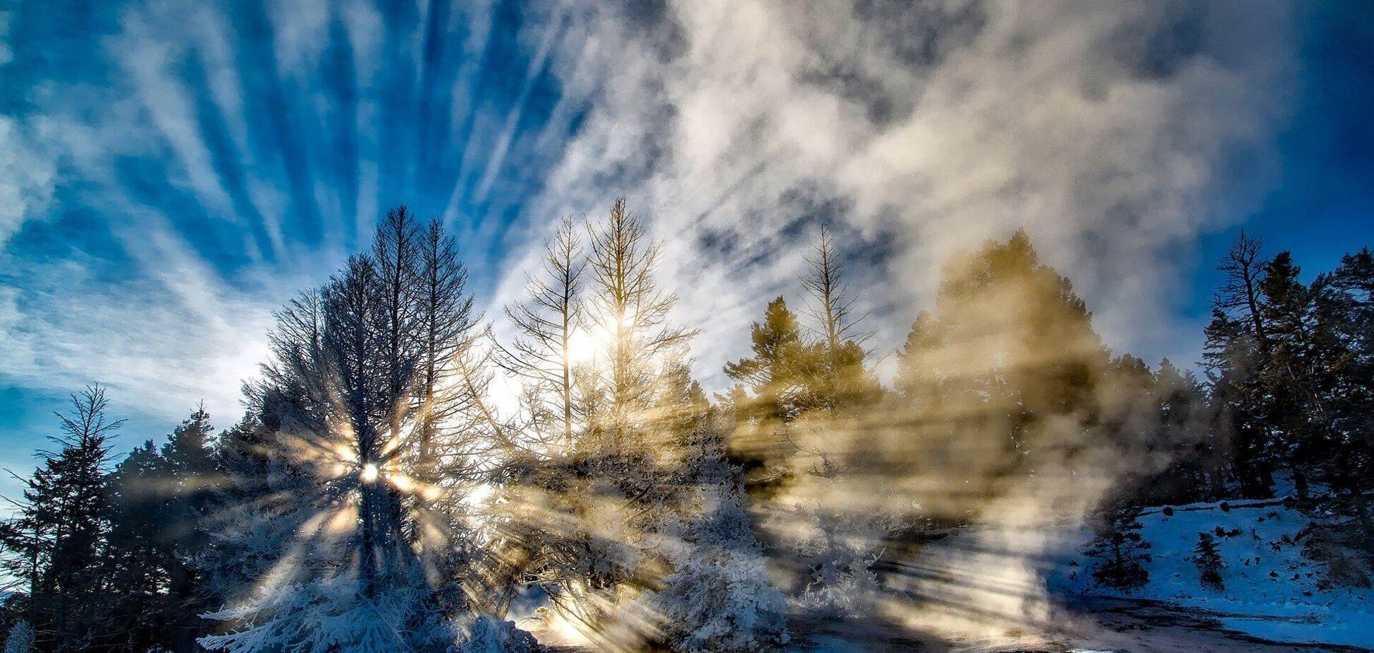 Зимы в Украине стали теплее