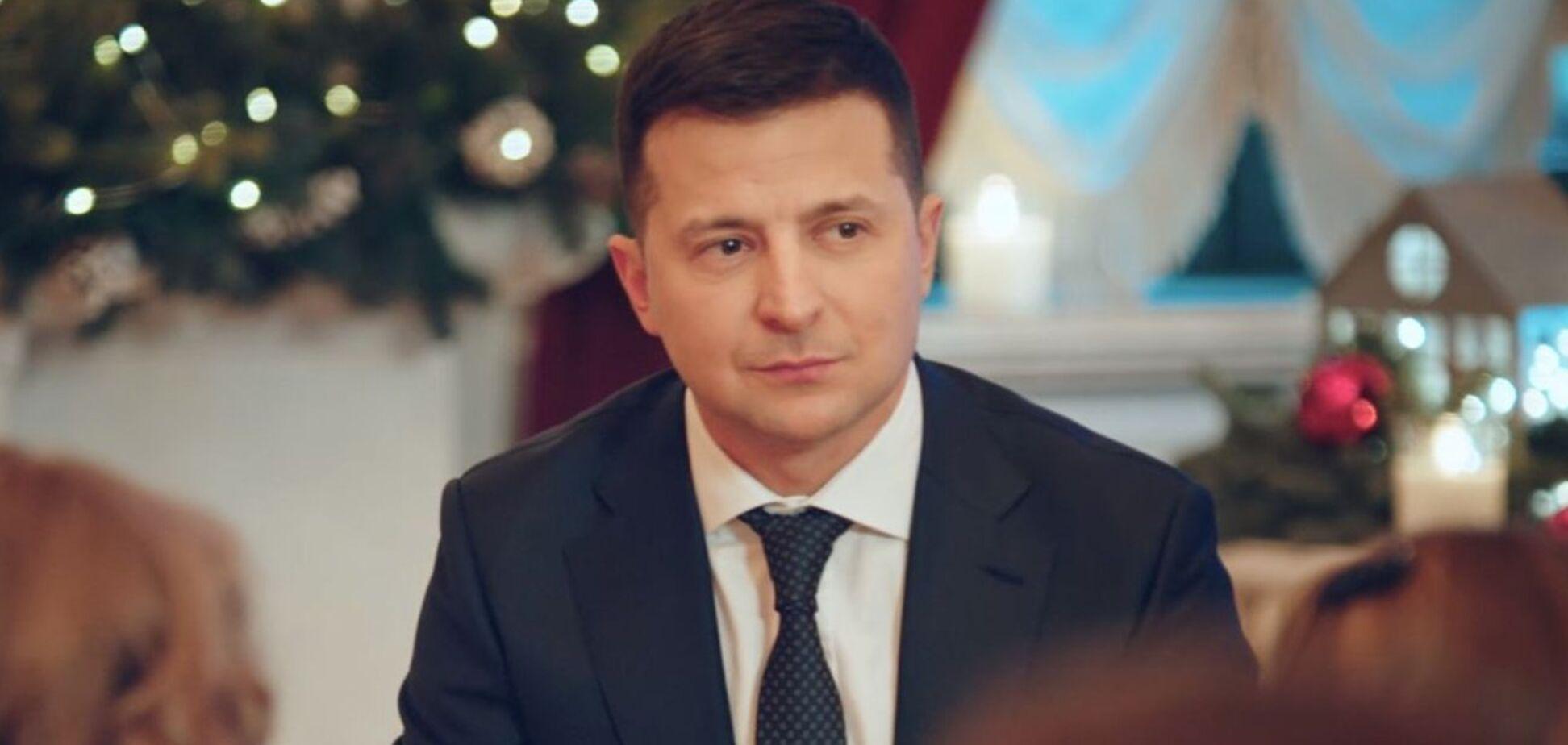 Владимир Зеленский в новогоднем поздравлении заговорил на русском языке