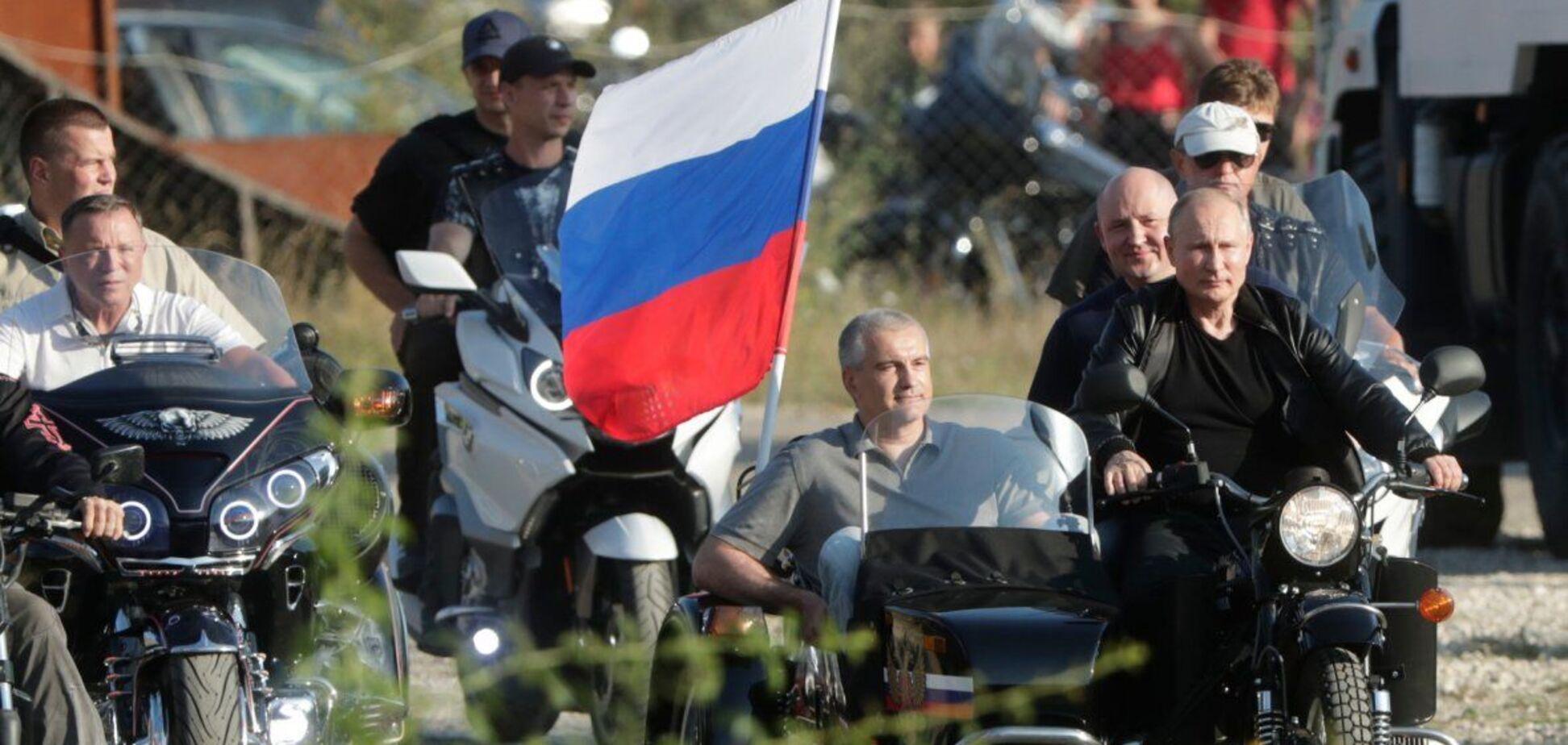 Новости Крымнаша. 'Что же вы, пришлые нелюди, с нашим Крымом сделали?!'