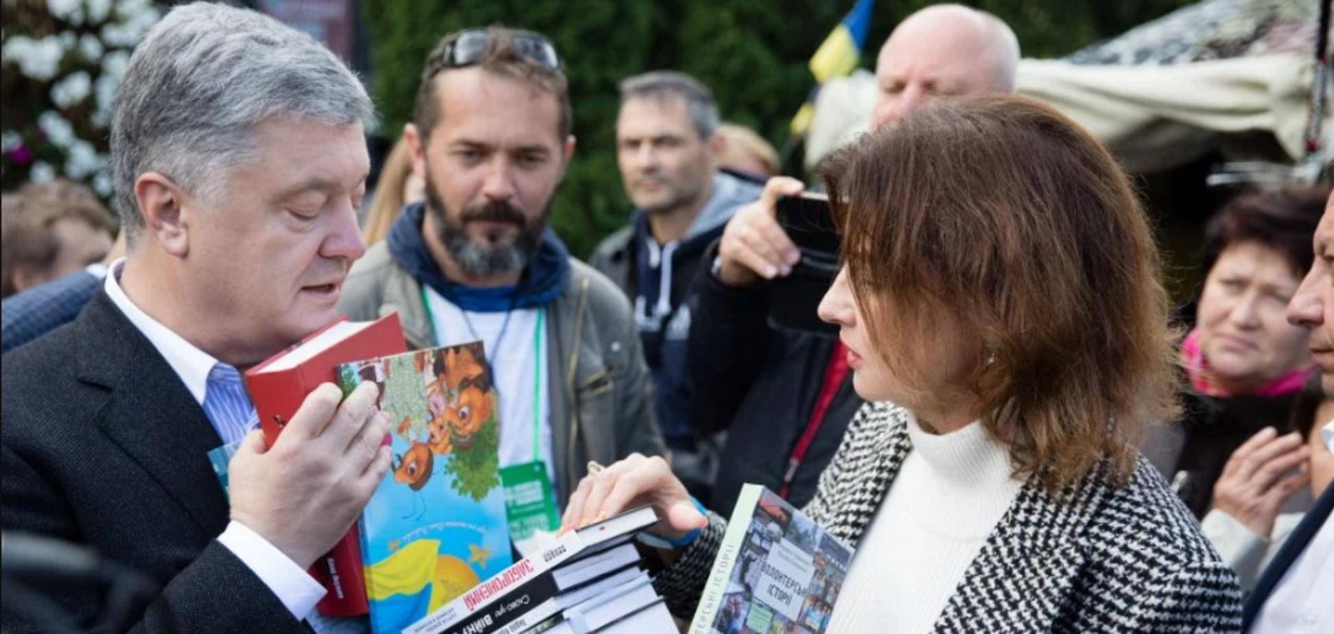 Порошенко назвал топ-6 украинских книг 2020 года
