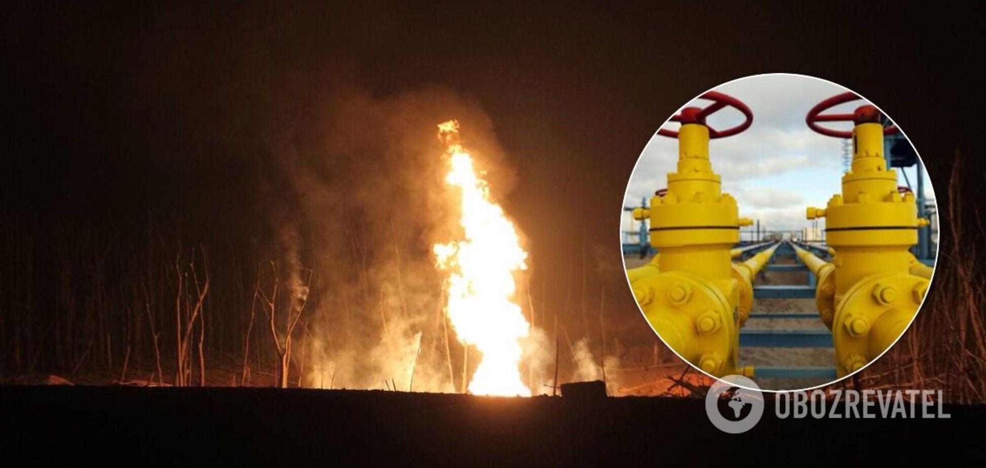 Ділянку газопроводу, який вибухнув під Лубнами, ще не відремонтували