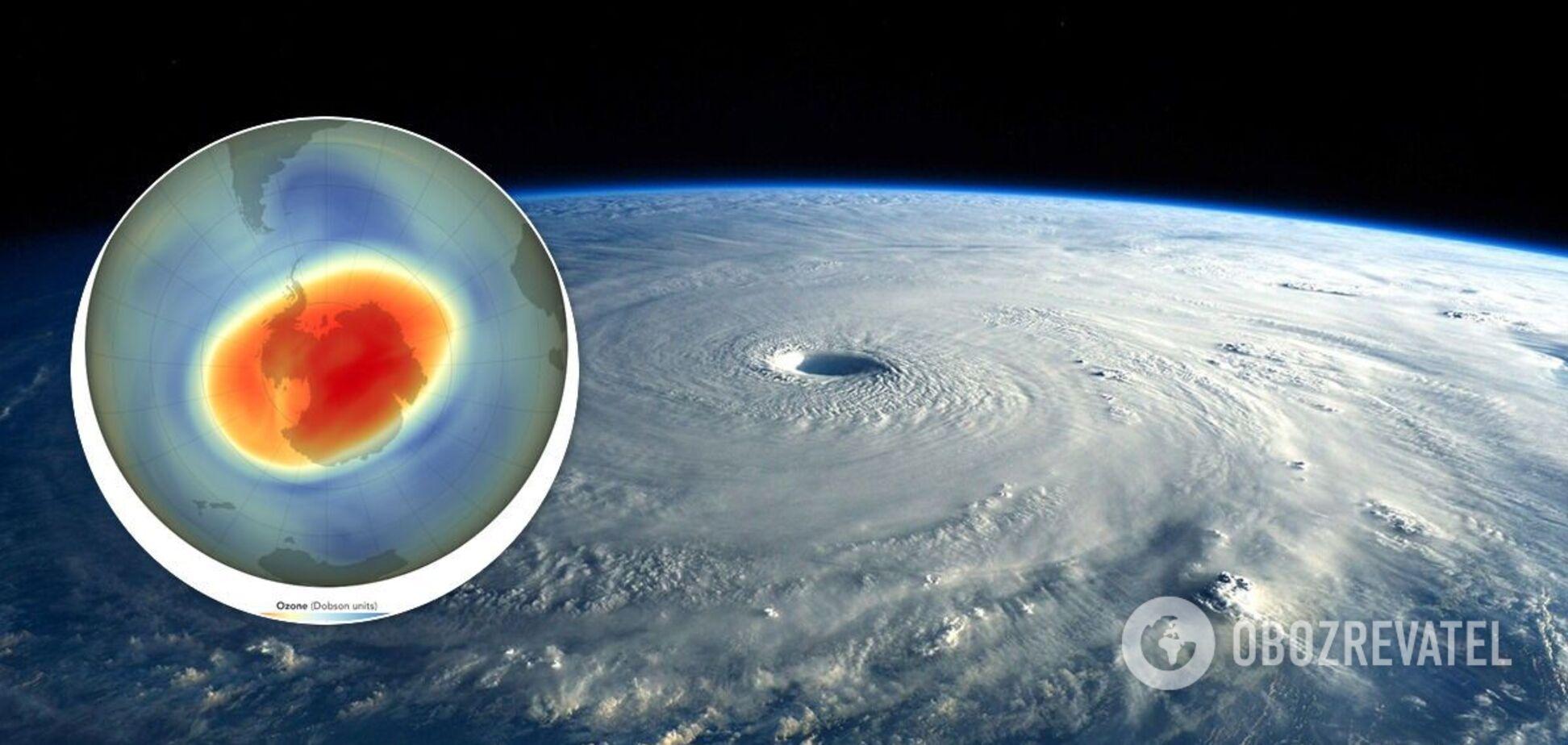 Над Арктикой закрылась самая длинная озоновая дыра