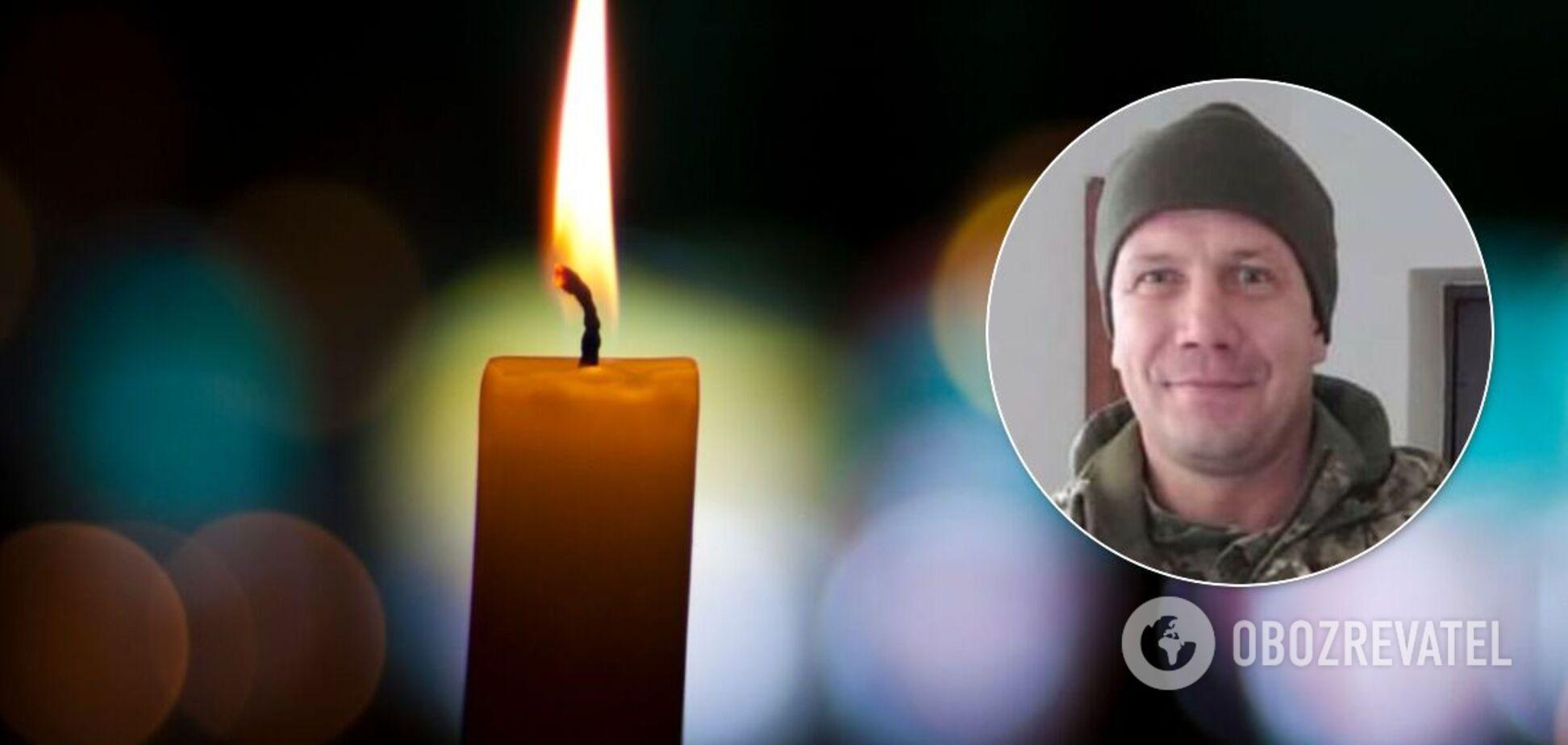 Раптово помер воїн ЗСУ з Рівненщини