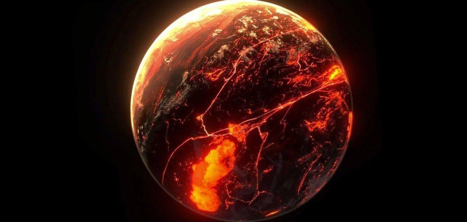 Температура на планетах-вулканах може досягати 725 градусів