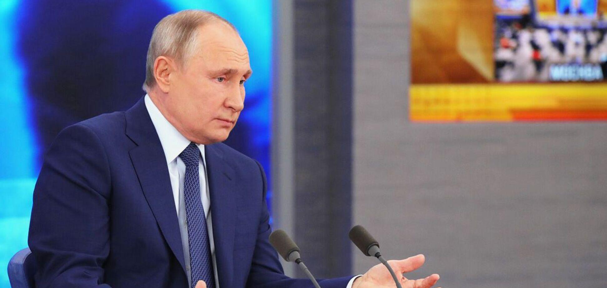 Кіпіані показав 'зашморг на шиї Путіна'. Знакове фото