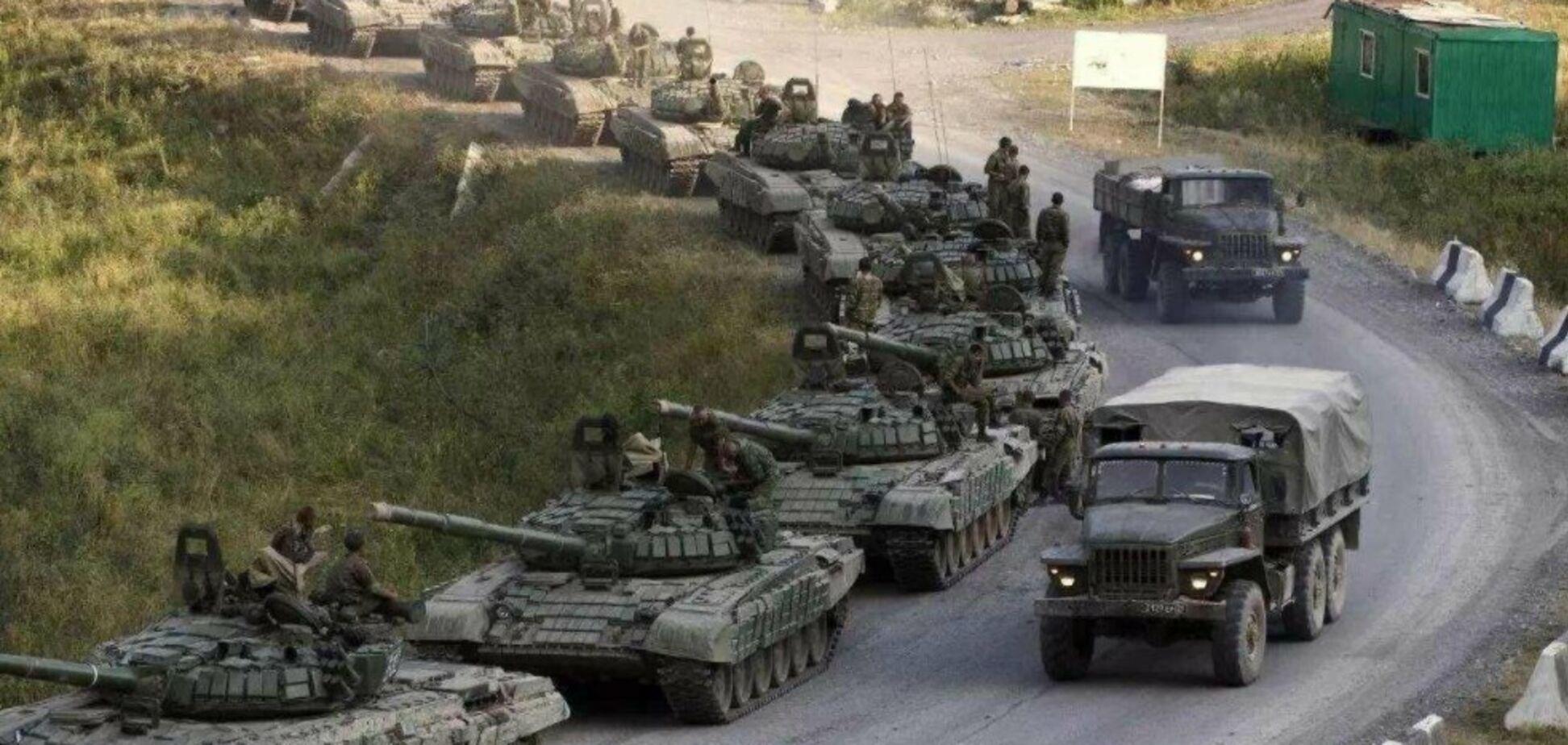 Угроза вторжения России в Украину в 2021 году серьезно возрастает