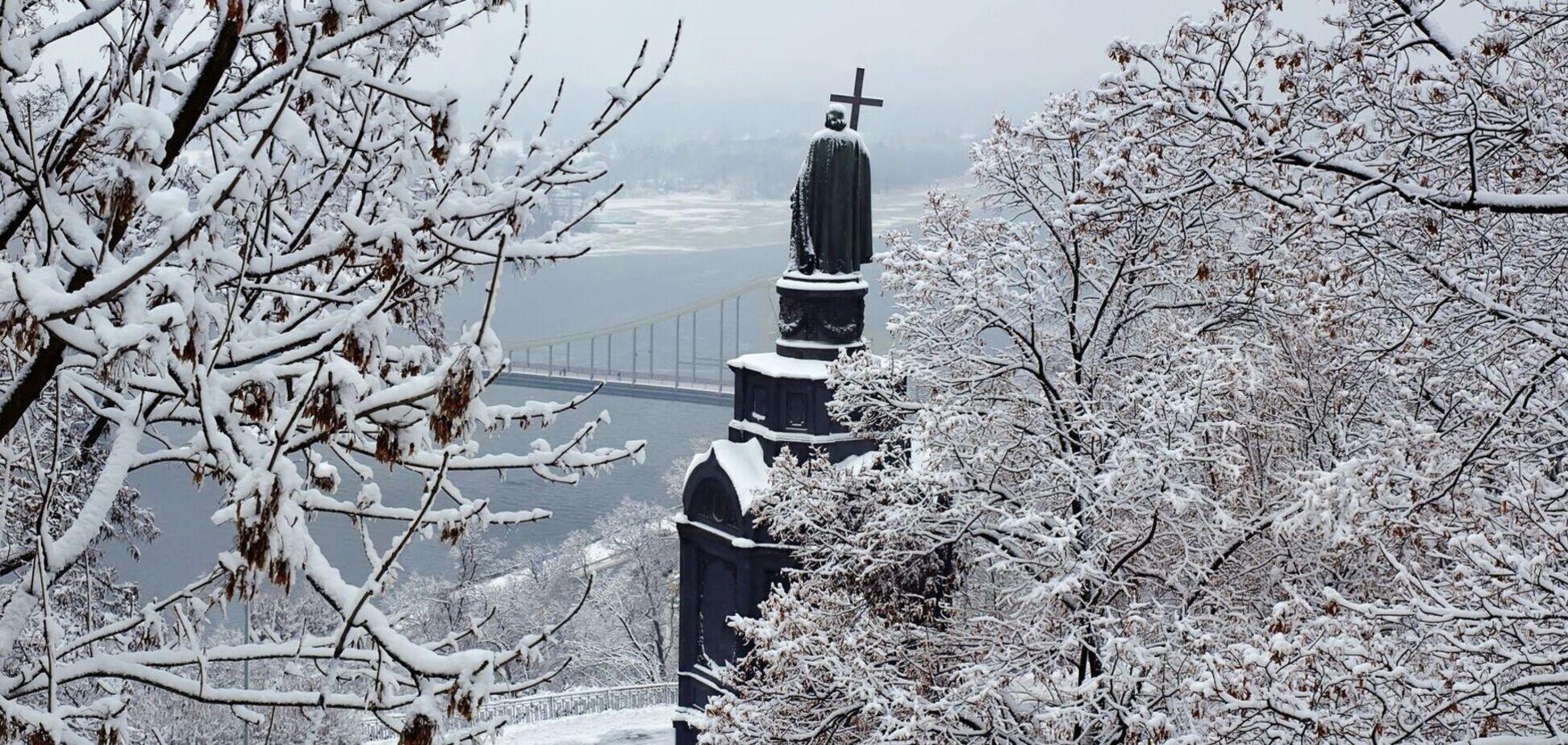 До Києва йдуть сильні морози зі снігом