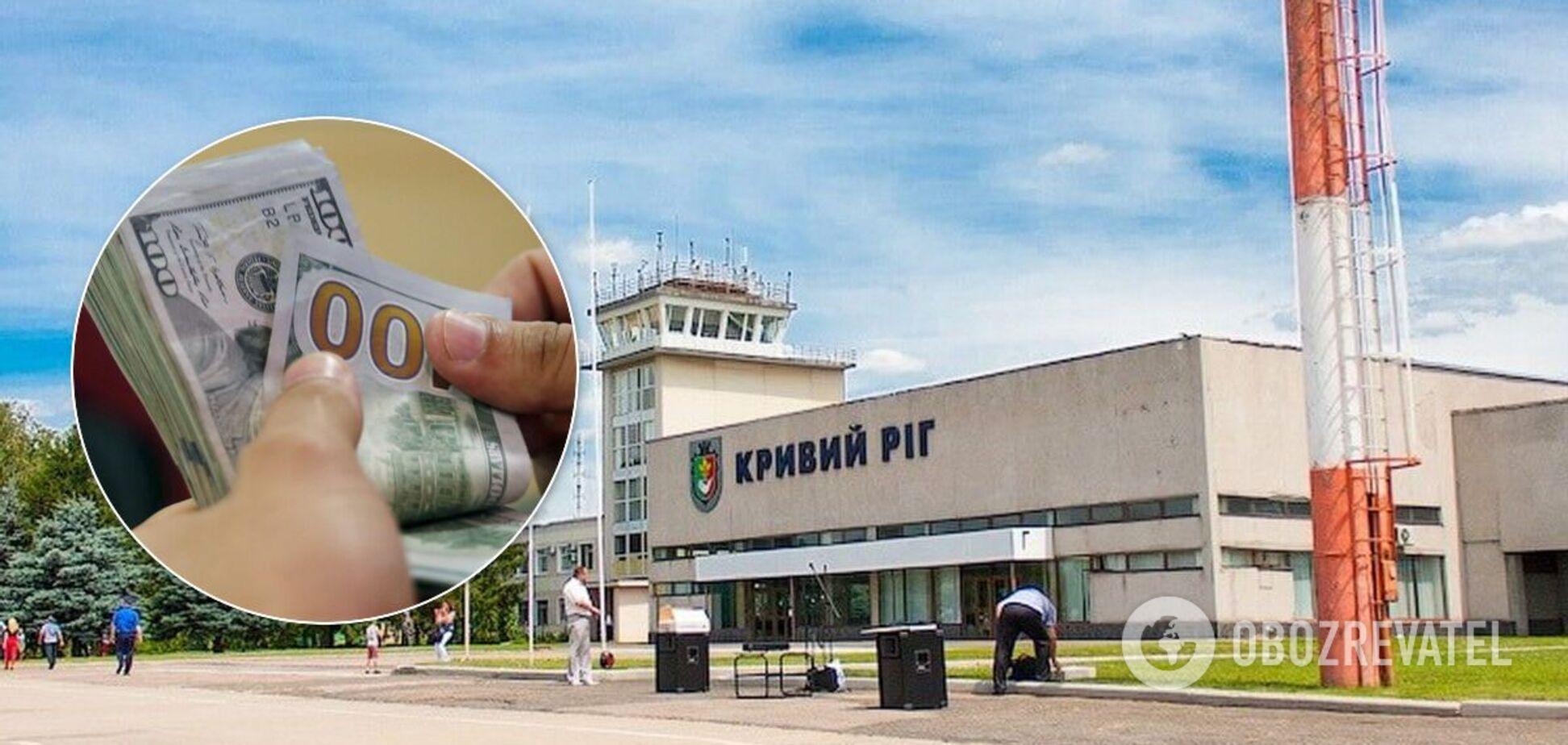 У Кривому Розі директор аеропорту вкрав із бюджету понад 5 млн – ОГП