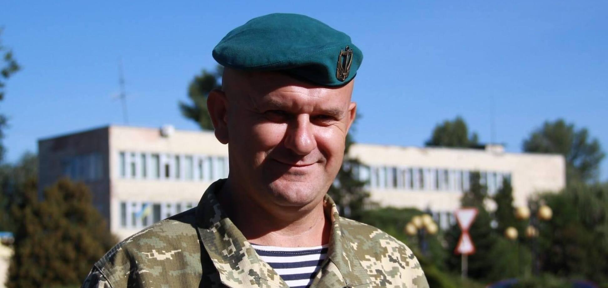 Воин ВСУ Анатолий Ганенко