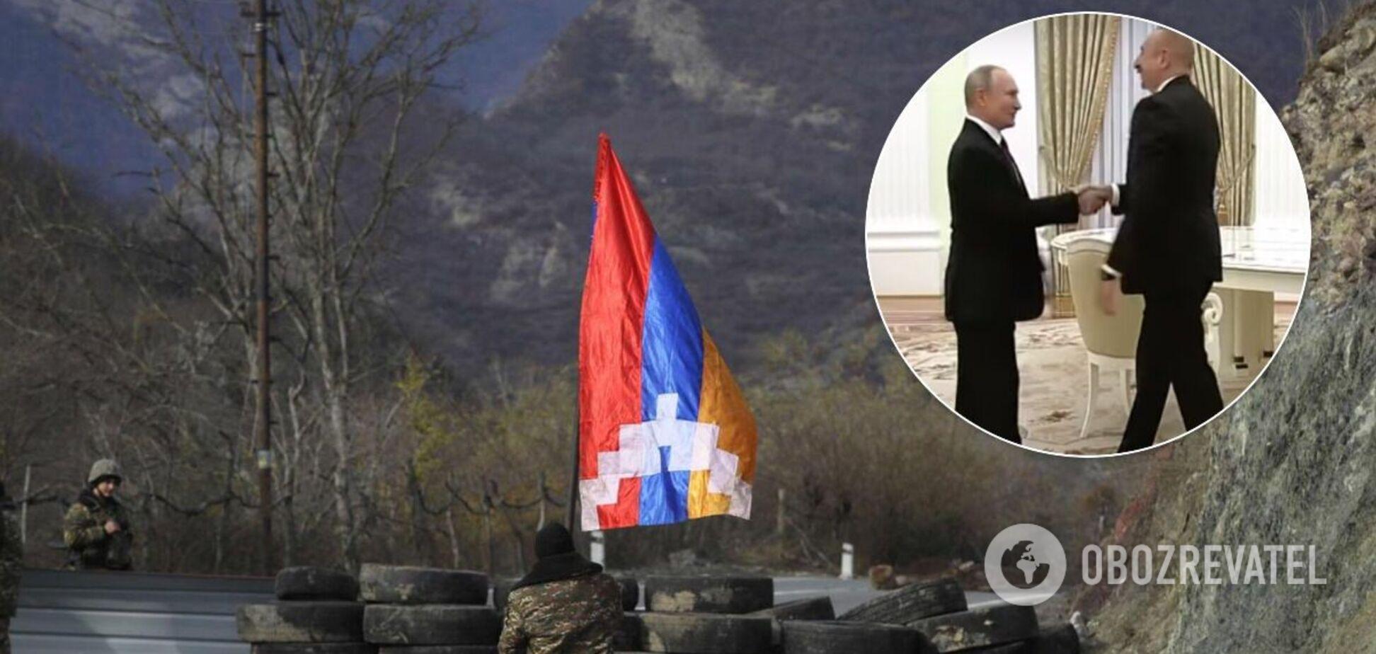 Переговори щодо Нагірного Карабаху