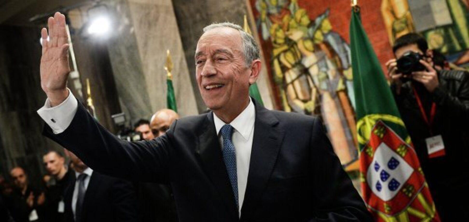 Президент Португалии Марселу Ребелу ди Соза