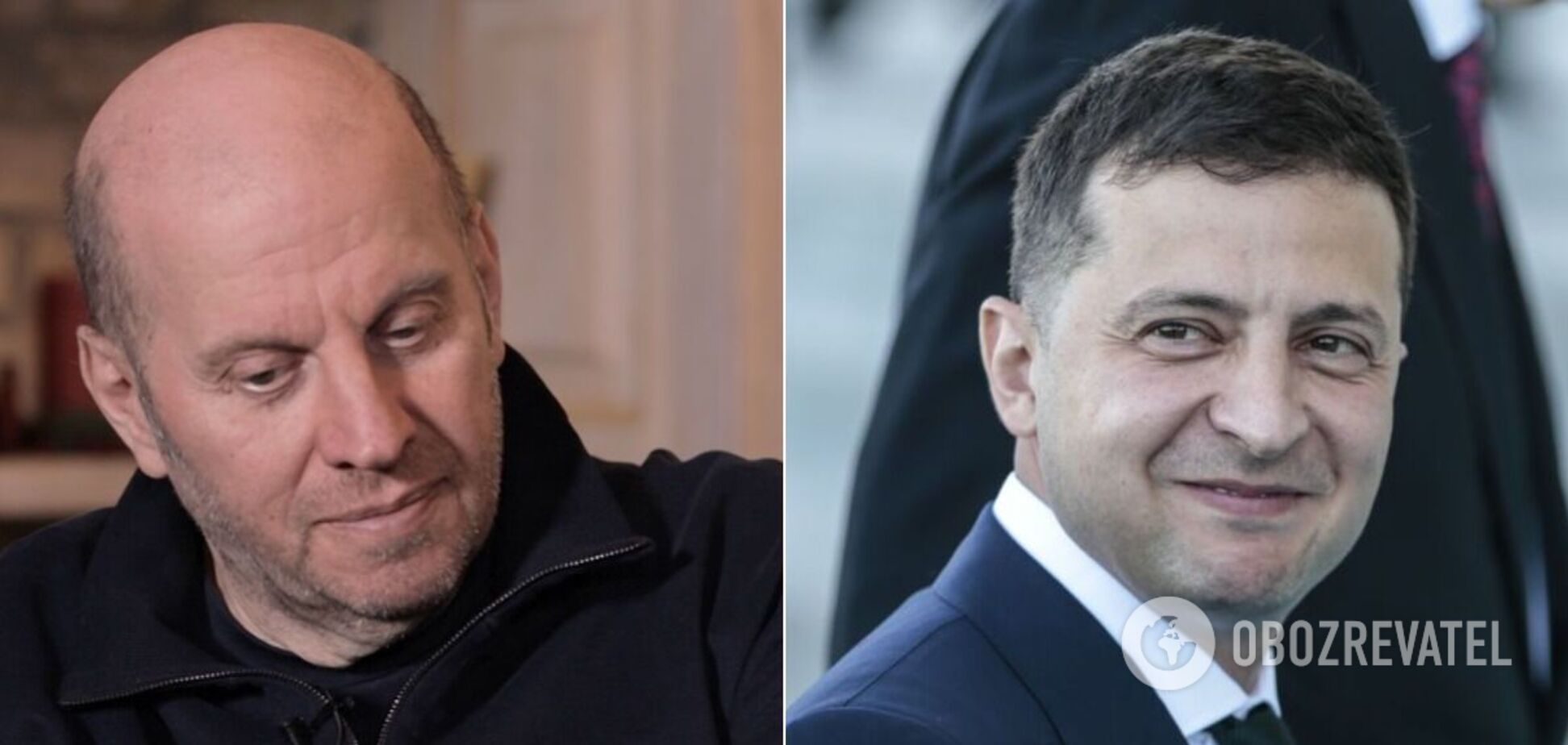 Михайло Бродський та Володимир Зеленський