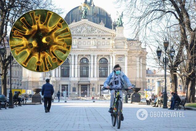На Львівщині циркулює один із мутантів COVID-19