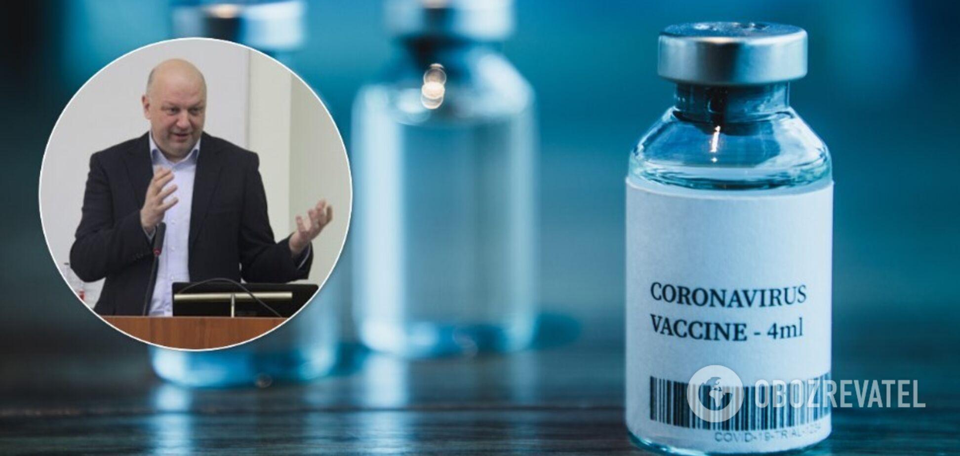 Михайло Пасічник координує процес вакцинації українців від Covid-19