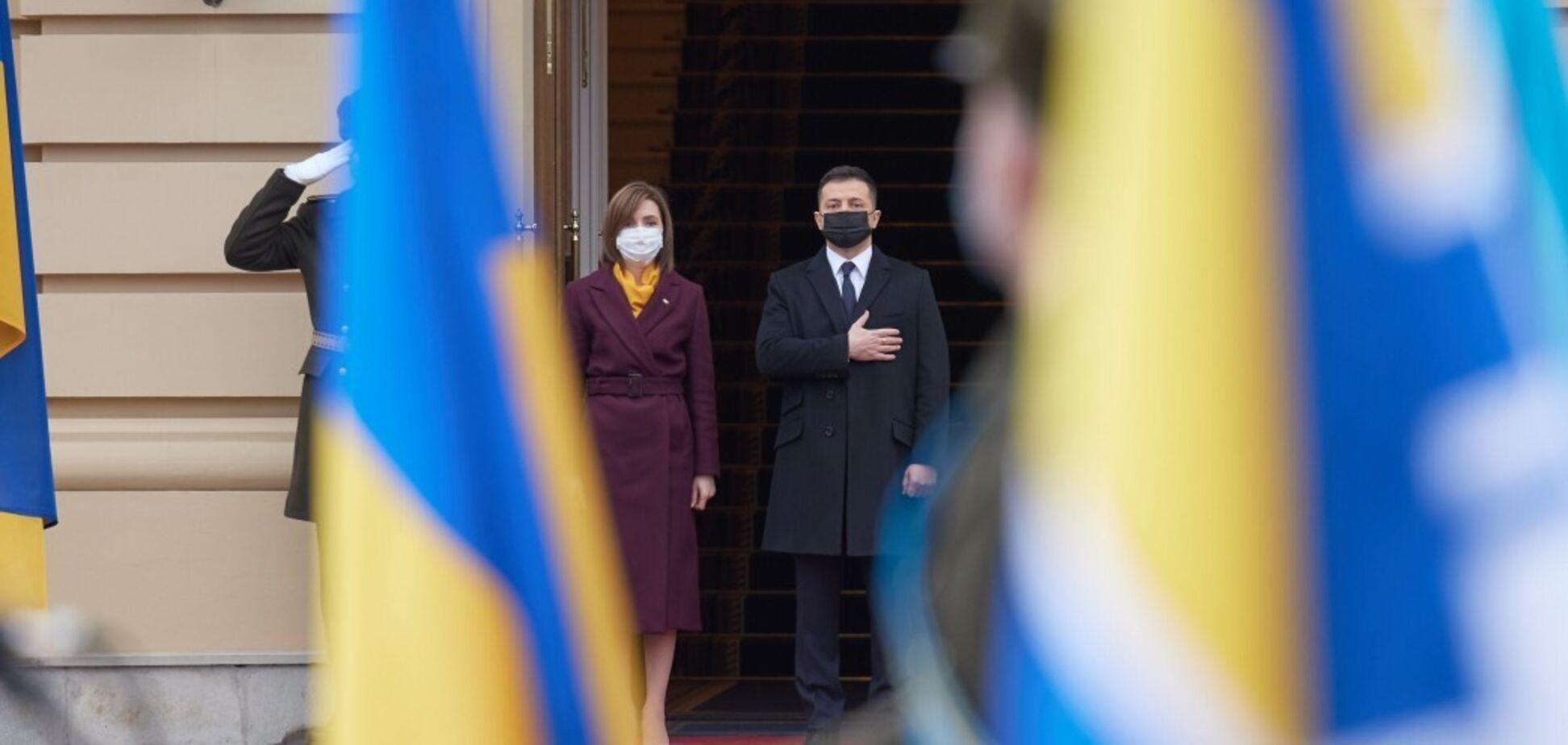 Зеленский и Санду обсудили урегулирование в Приднестровье