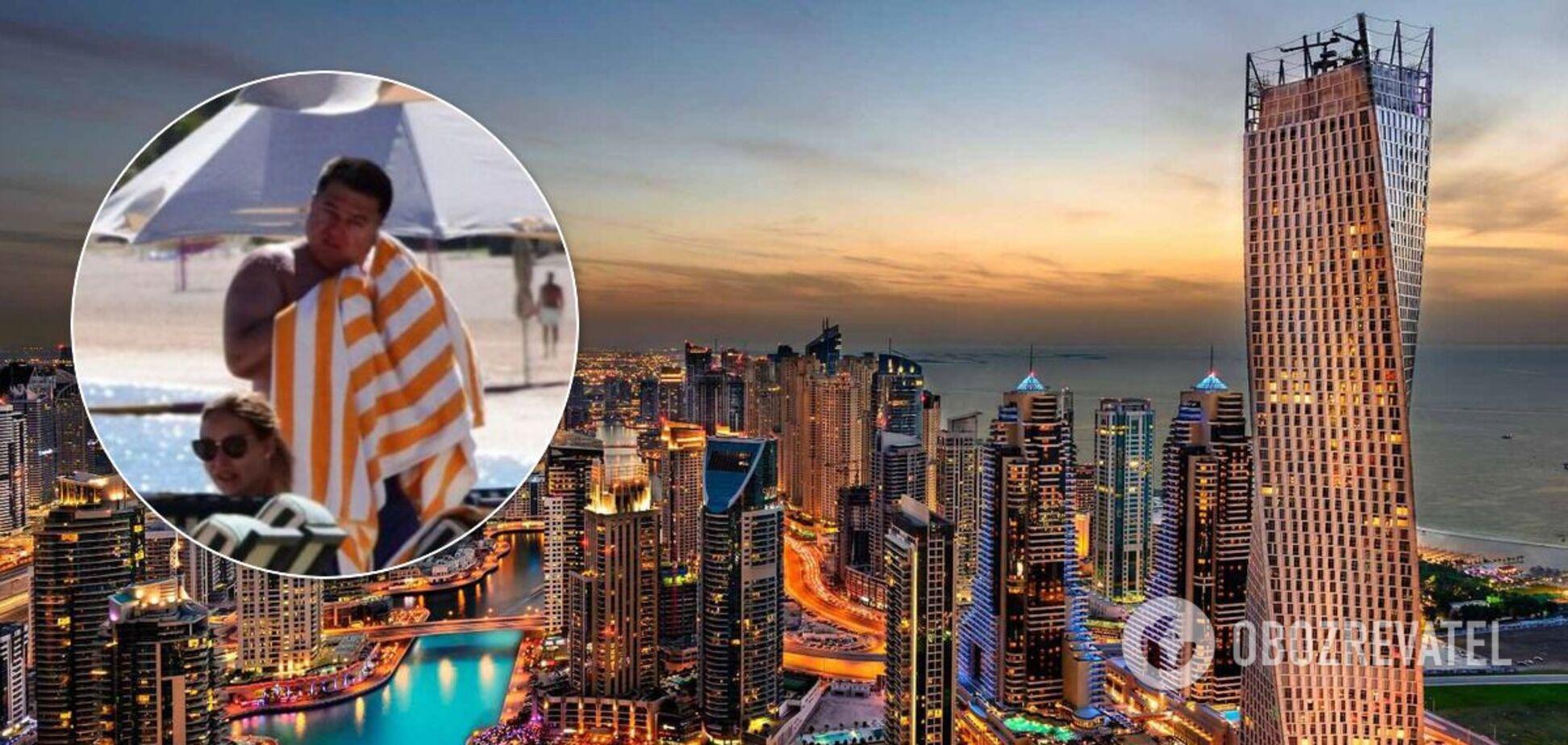 Відпочинок голови КСУ в ОАЕ