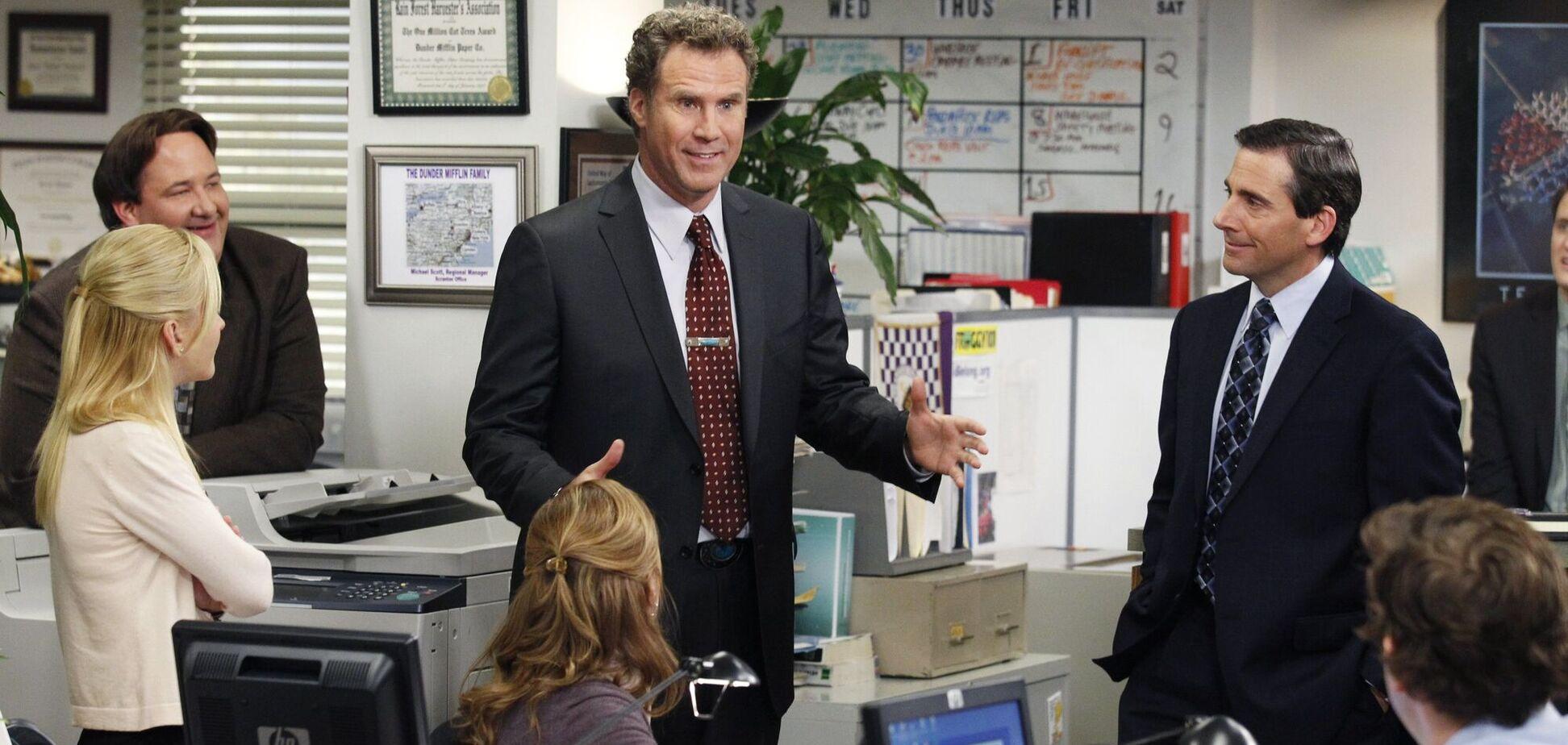 Кадр із серіалу 'Офіс'