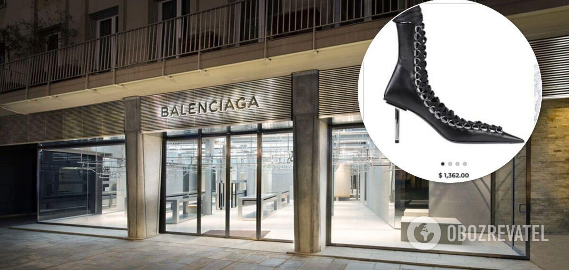 Сапоги Balenciaga высмеяли в сети