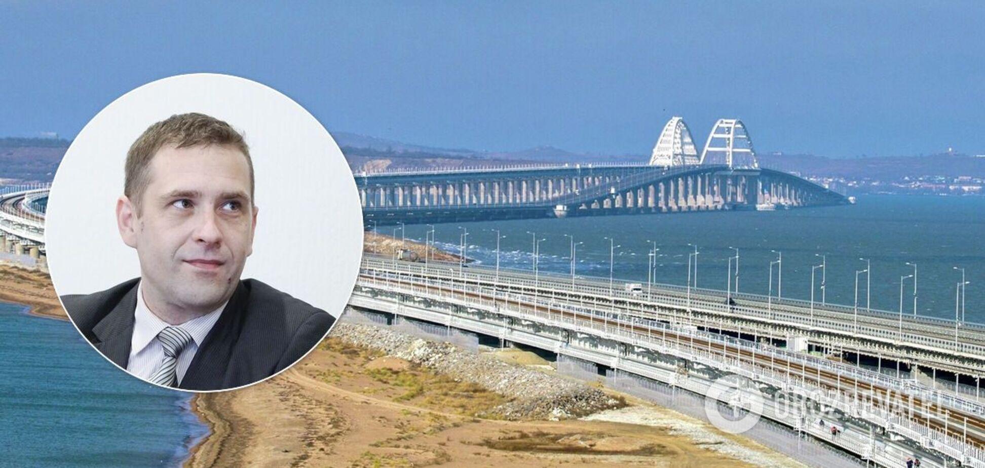 Выяснилось, для чего еще оккупанты используют Крымский мост
