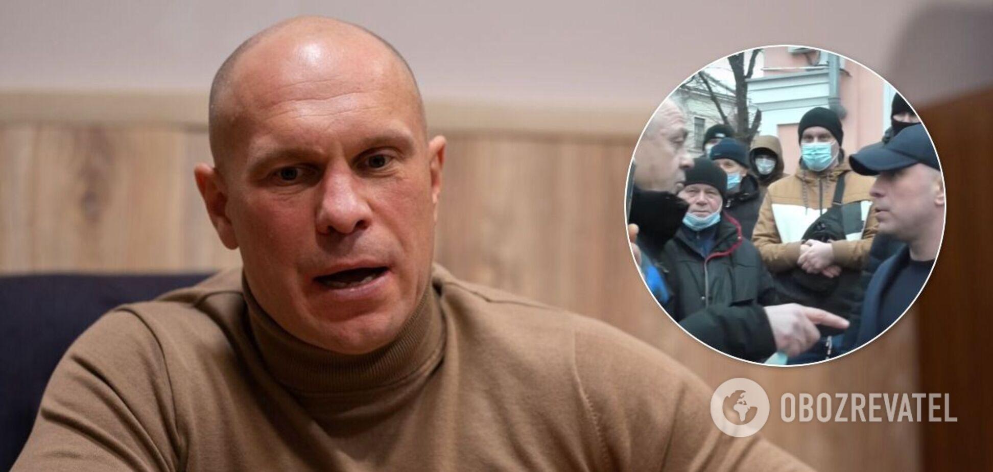 Кива приехал в Лубны после взрыва и угодил в скандал за пиар на тарифах. Видео