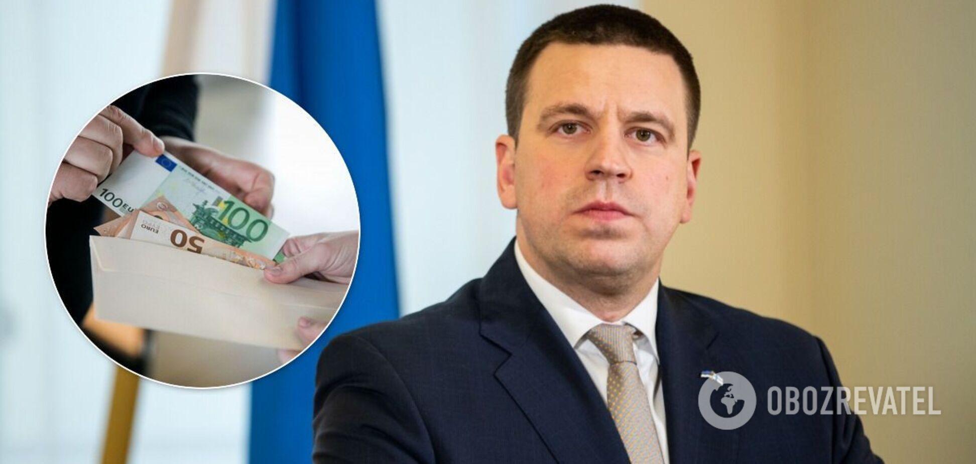 В Естонії уряд пішов у відставку через корупційний скандал