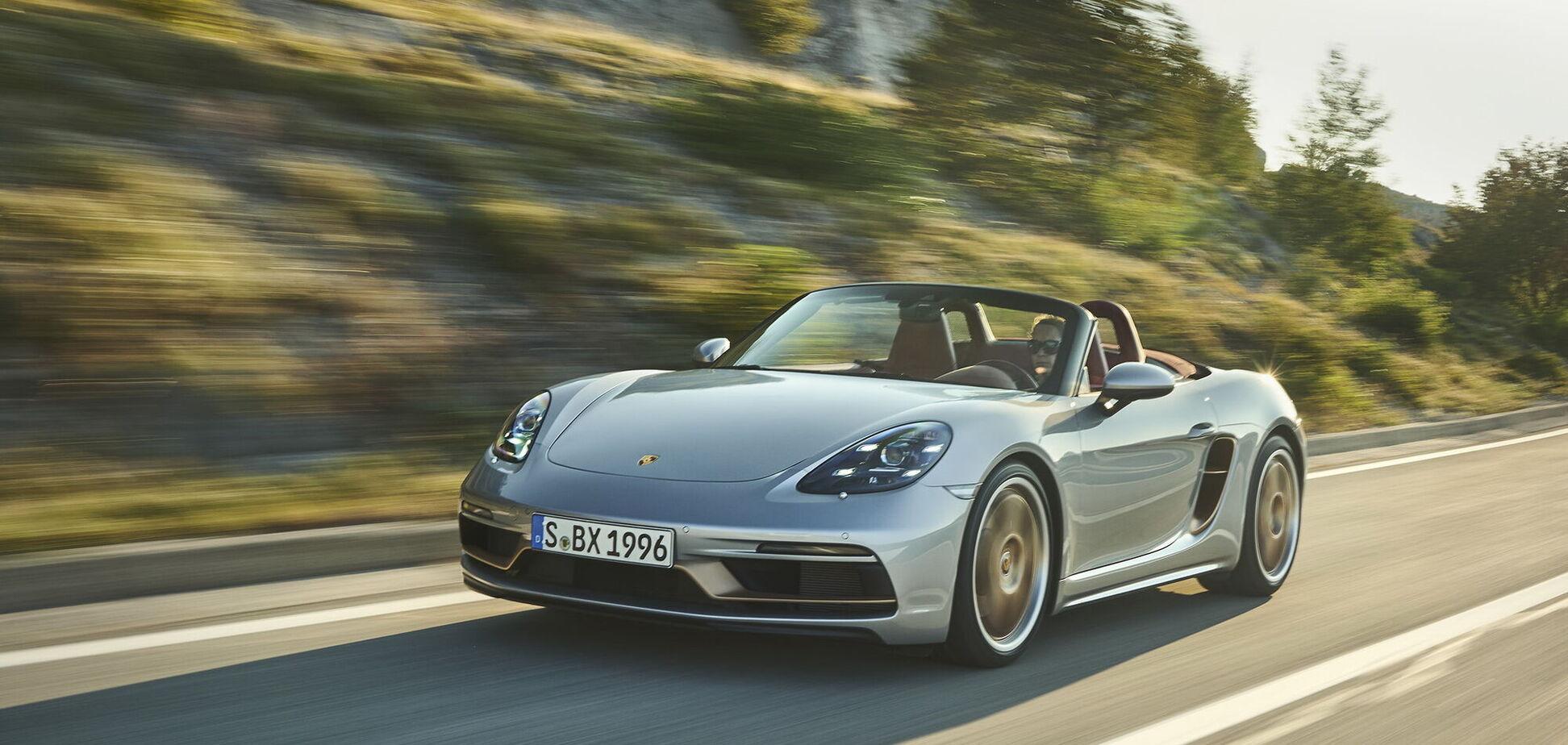 Porsche отметил 25-летие модели Boxster выпуском спецсерии