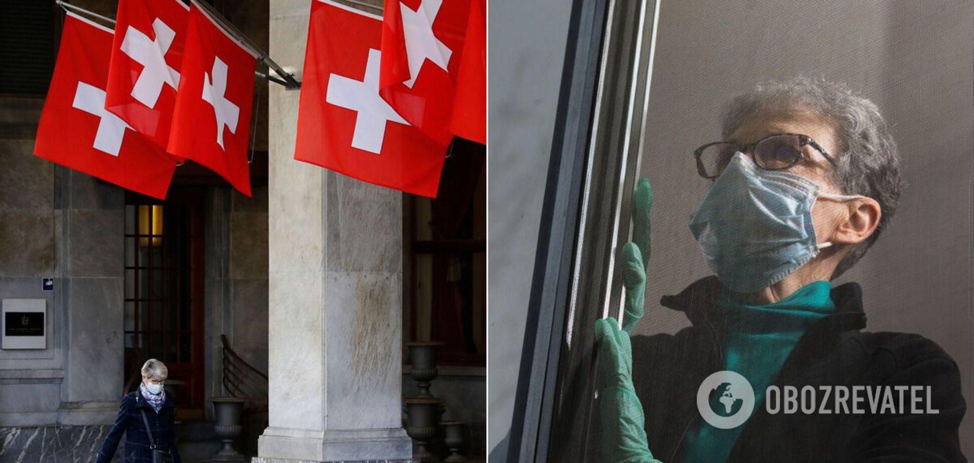 Пандемия COVID-19 в Швейцарии