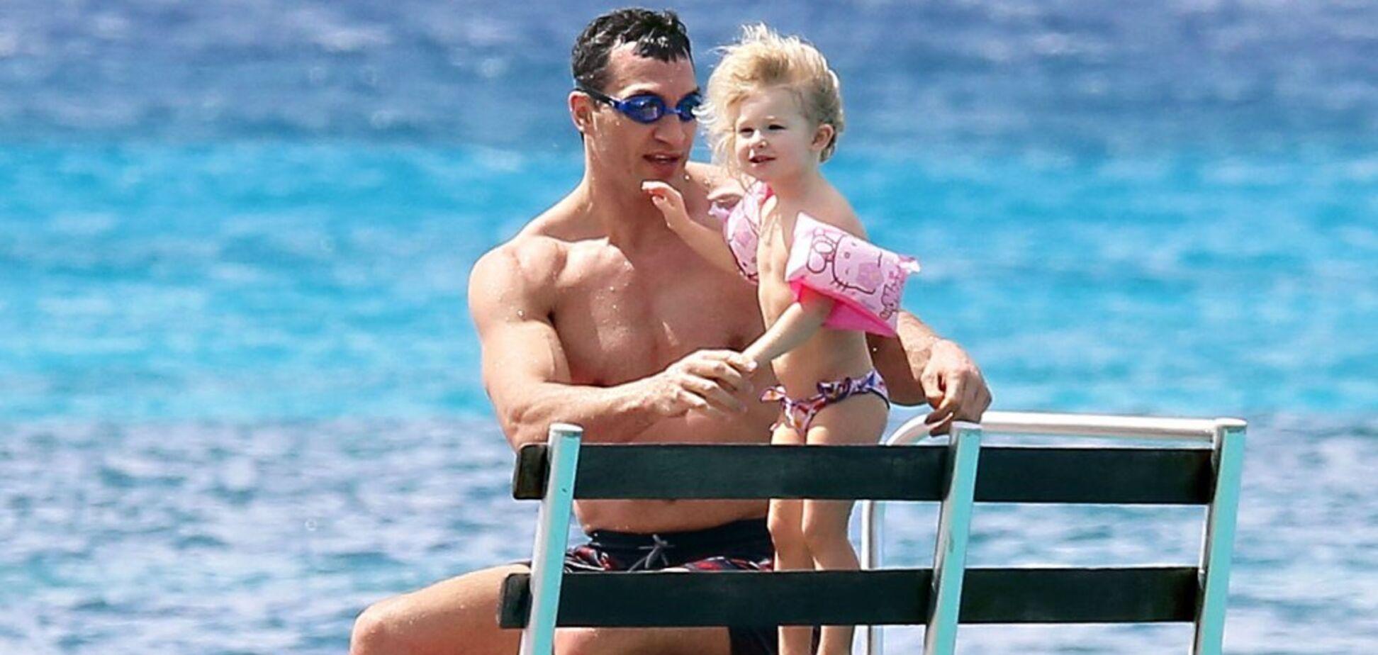 Володимир Кличко з донькою